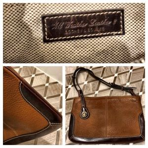 Authentic Dooney & Bourke brown purse